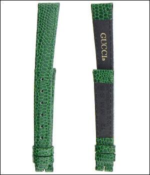 Gucci Green 12mm Watch Band ID.1182