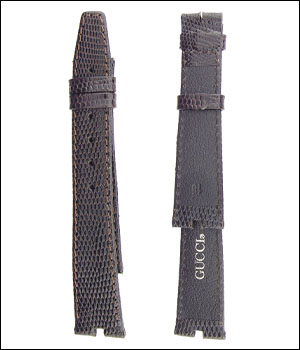 Gucci 18mm Lizard Watch Band ID.1198