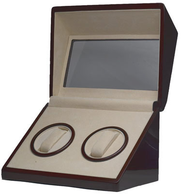 Cherry Double Watch Winder - Matte
