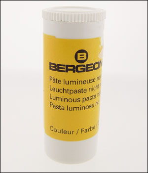 Bergeon 5680 - Green Luminous Paste - DISCONTINUED - OUT OF STOCK