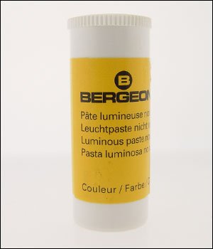 Bergeon 5680 (E) White Luminous Paste - DISCONTINUED - OUT OF STOCK