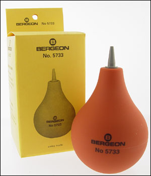 Bergeon 5733 Rubber Dust Blower (ID.270)
