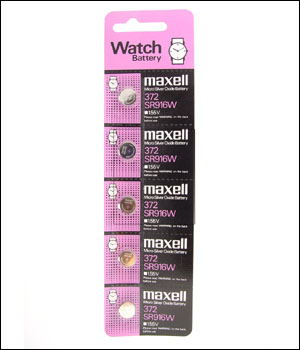 Maxell 372 Battery (ID.511)