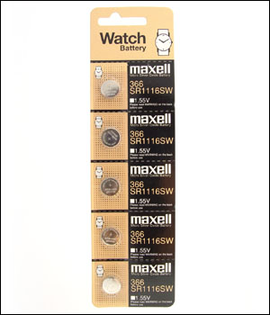 Maxell 366 Battery (ID.529)