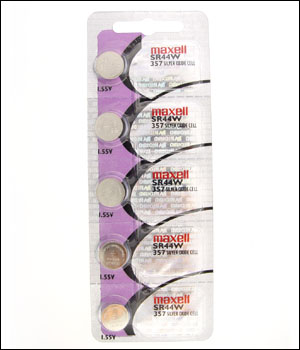 Maxell 357 Battery (ID.534)