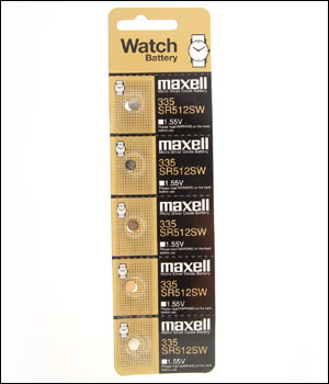 Maxell 335 Battery (ID.536)