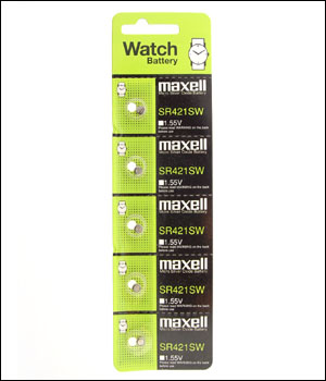 Maxell 348 Battery (ID.537)