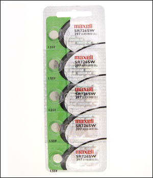 Maxell 397 Battery (ID.539)