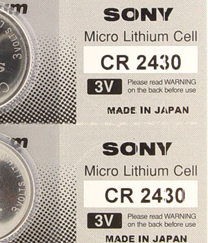 Cr 2430 Sony Micro Lithium Cell/Battery (ID.562)