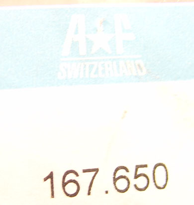 AF Switzerland 167.650 Case and Movement Holder (ID.585)