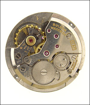 BULOVA 11 AF Movement No Dial