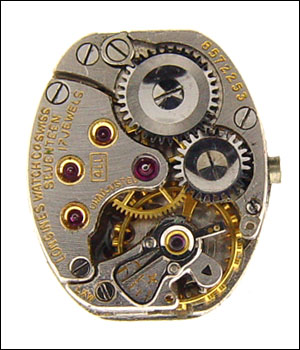 Longines 4LL Movement Dial 3