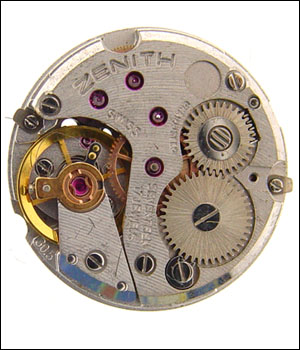 Zenith 30.5 Movement No Dial