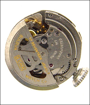 BULOVA 6CMA Movement