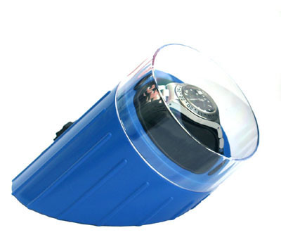 Blue Compact Single Watch Winder